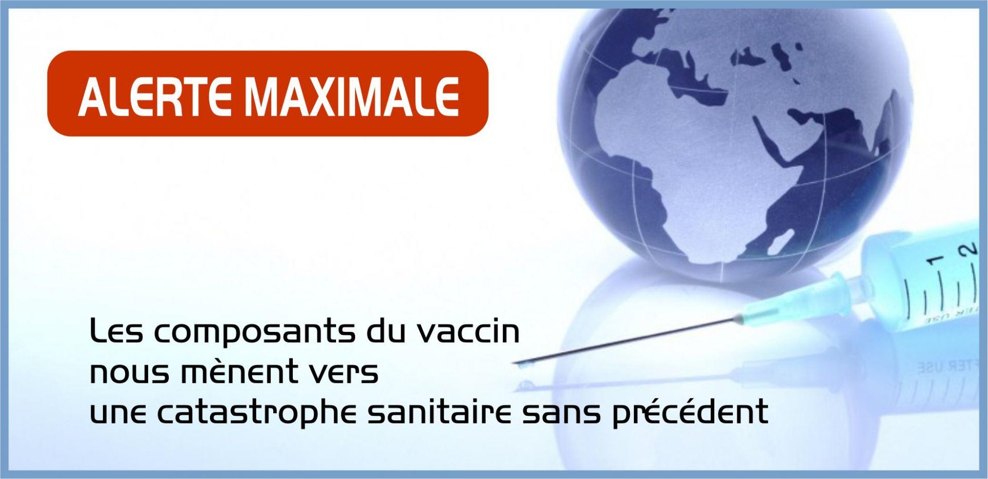 Geert Vanden Bossche Ph.D : Alerte: La vaccination risque d'entraîner une catastrophe mondiale sans égale