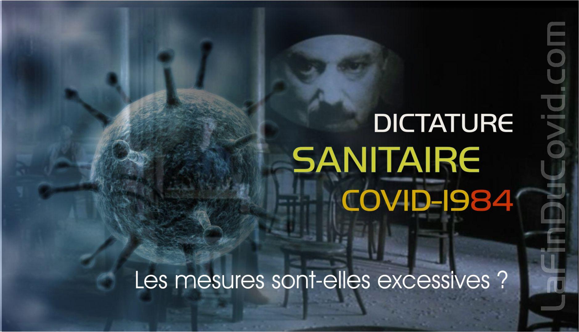Vivons-nous dans une dictature sanitaire injustifiée ?
