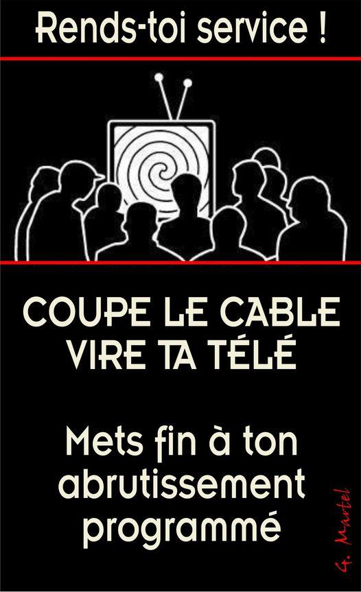 Un conseil : coupe le cable