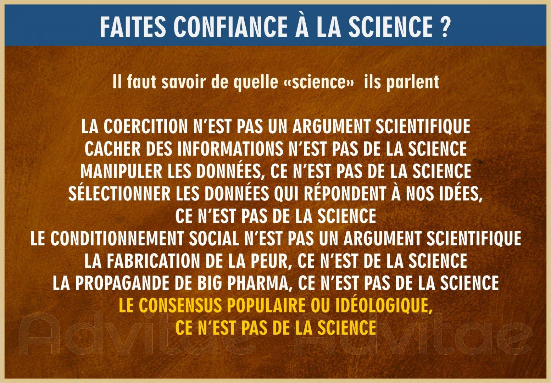 Comment la perversion du concept de science mène à une doctrine sterile et idéologique ?