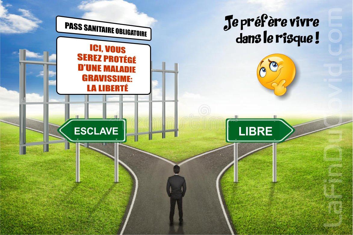 Vivre en prenant des risques, ou bien, se faire protéger de la liberté malgré nous ?