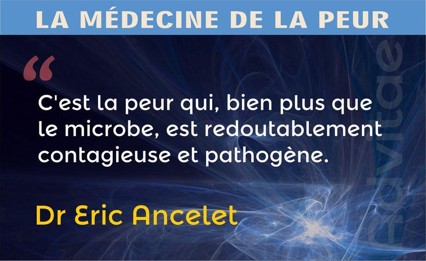 Ancelet: C'est la peur plus que le microbe qui est dangereusement contagieuse