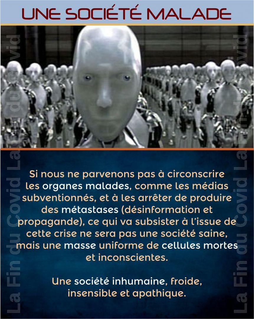 Société malade et robotique