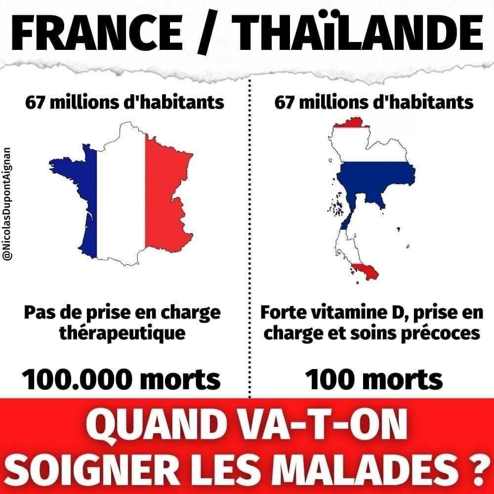 Thaïlande : Médecine naturelle vs médecine officielle - une différence d'un facteur 1000