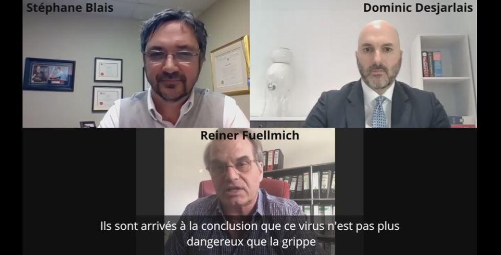Reiner Fuellmich :  Le procès Nuremberg 2.0