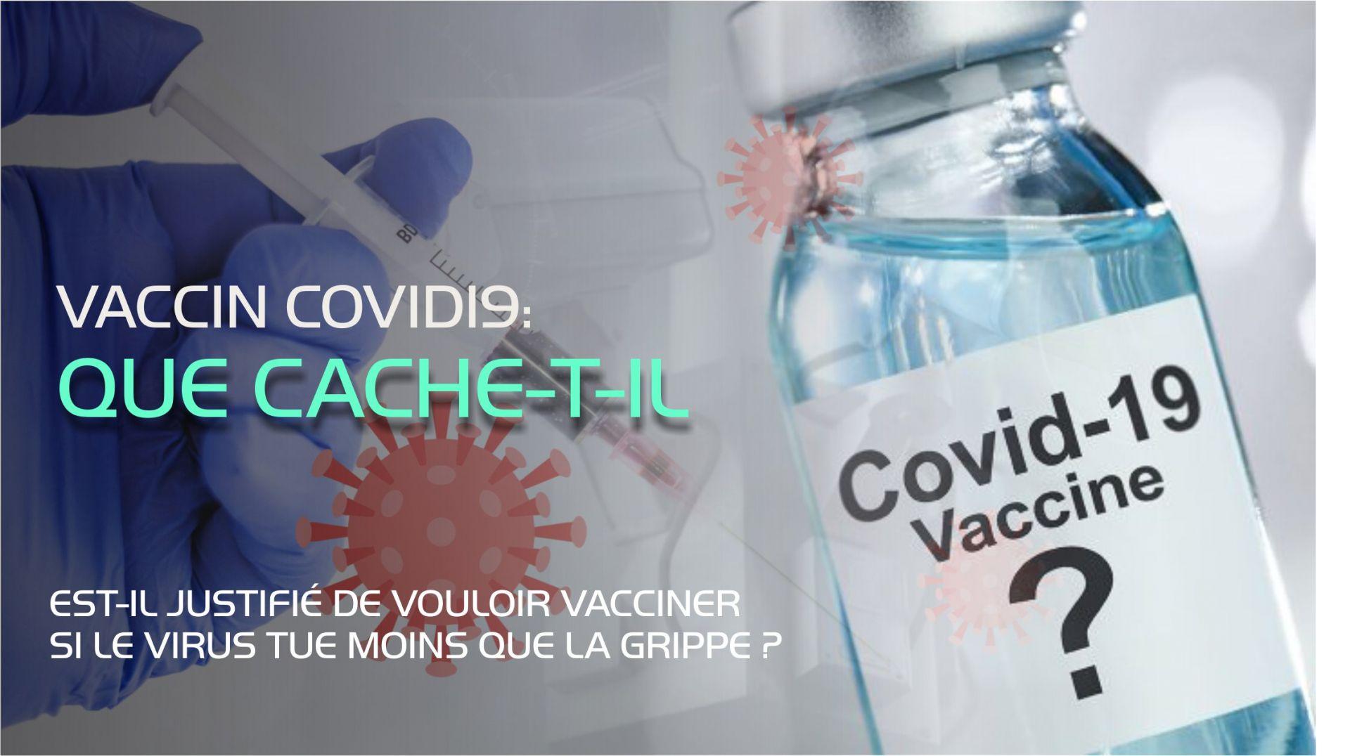 Ce procédé n'est pas un vaccin mais un mécanisme pour nous rendre encore plus malade ?