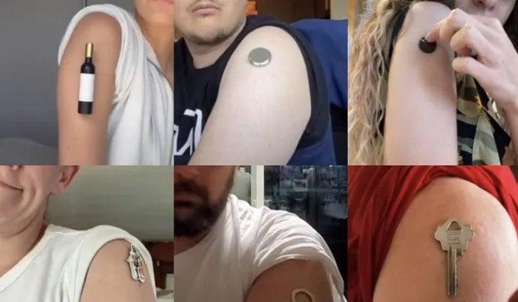 Les personnes vaccinées sont-elles devenu magnétiques ? Rapport d'enquête